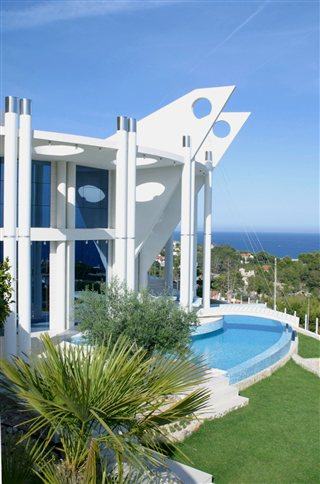 Modern villa 4 bedrooms  with amazing panoramic views to the coast of Alicante and the sea Ref: 467