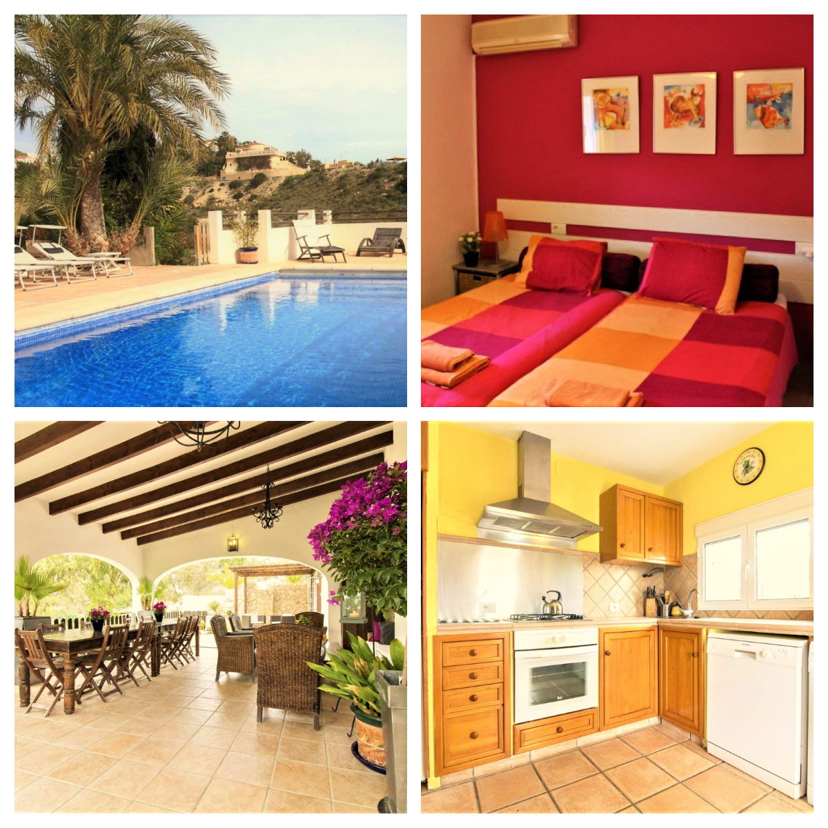 """Beautiful villa """"Casa Perleta"""" with fantastic pool, for large families. This villa is perfect for a relaxing sunshine holiday, all year round! Ref: 470"""