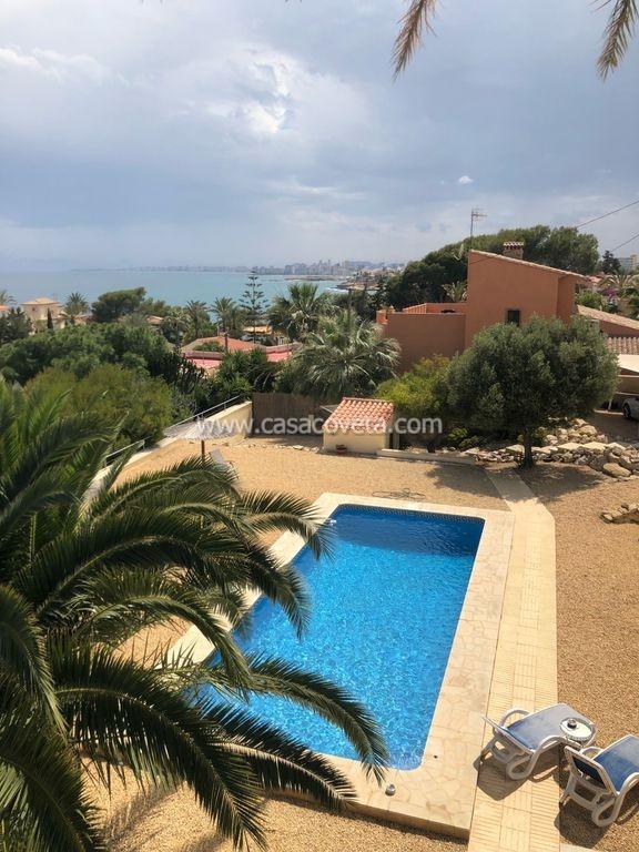 Luxe villa met 5 slaapkamers, 3 badkamers, privézwembad, uitzicht op zee, aparte studio Ref.571