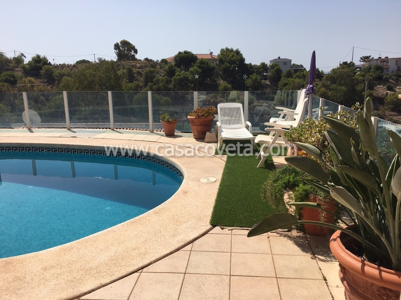 Lovely Apartment with Pool & Fabulous Sea views Ref,581